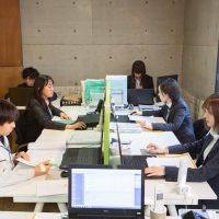 丹羽事務所の職場風景